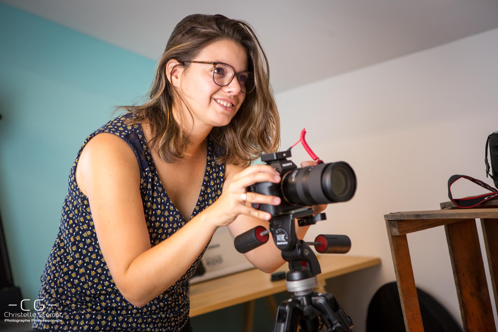 Tournage-photographe-clap&cut